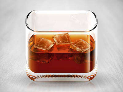 Cocktail Wisky boisson icône Android